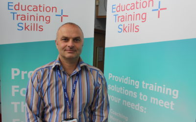 A NEW TRAINER AT ETS